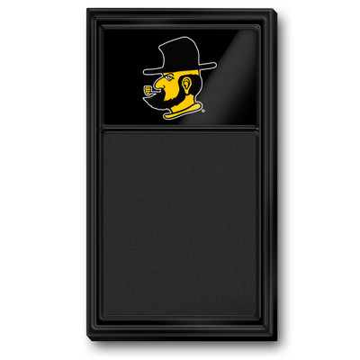 Appalachian State Mountaineers Team Board Chalkboard-Secondary Logo | Grimm Industries |AP-620-02