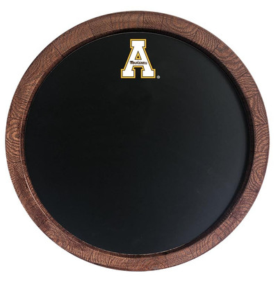 Appalachian State Mountaineers 20 inch Barrel Team Logo Chalkboard-Primary Logo | Grimm Industries |AP-630-01