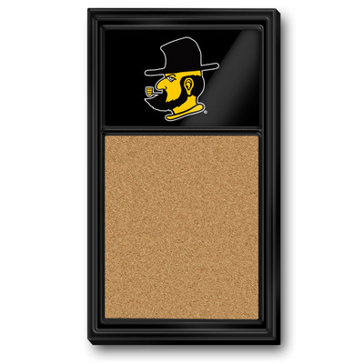 Appalachian State Mountaineers Team Board Corkboard-Secondary Logo | Grimm Industries |AP-640-02