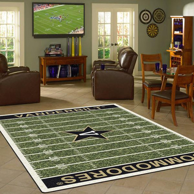 Vanderbilt Commodores Football Field Rug | Milliken | 4000096152