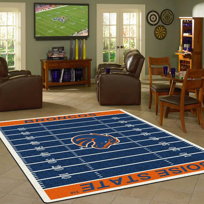 Boise State Broncos Football Field Rug | Milliken | 4000054615