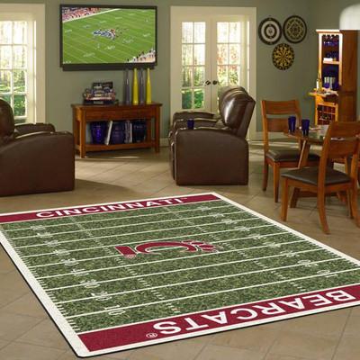 Cincinnati Bearcats Football Field Rug | Milliken | 4000054618