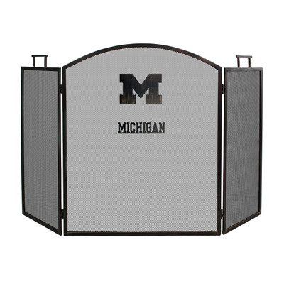 Michigan Wolverines Fireplace Screen | Imperial International | 736-3009