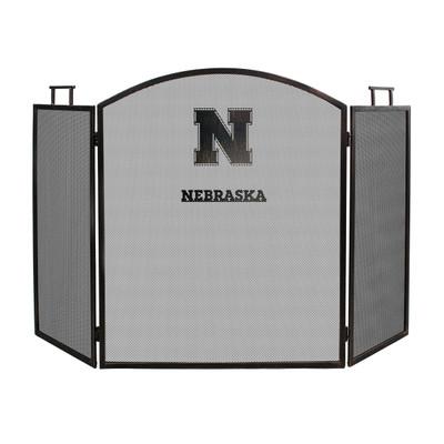 Nebraska Huskers Fireplace Screen | Imperial International | 736-3010