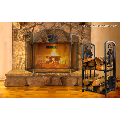 Clemson Tigers Fireplace Screen | Imperial International | 736-3043