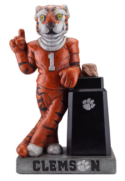Clemson Tigers Mascot Garden Statue | Stonecasters | 2942