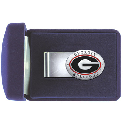 Georgia Bulldogs Money Clip | Heritage Pewter | MC10005ER