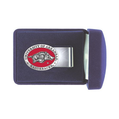 Arkansas Razorbacks Money Clip | Heritage Pewter | MC10255ER