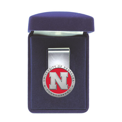 Nebraska Huskers Money Clip | Heritage Pewter |MC10183ER