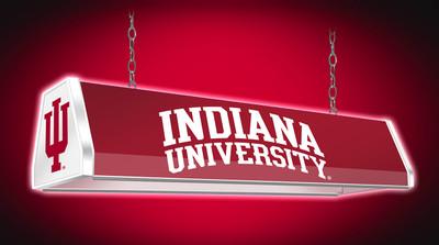 Indiana Hoosiers 38 inch Standard Pool Table Light | Grimm Industries |IN-310-01