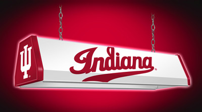 Indiana Hoosiers 38 inch Standard Pool Table Light | Grimm Industries |IN-310-02