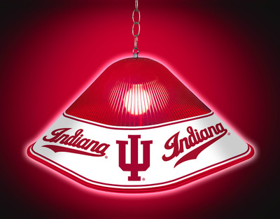Indiana Hoosiers Game Table Light-Script | Grimm Industries |IN-410-02