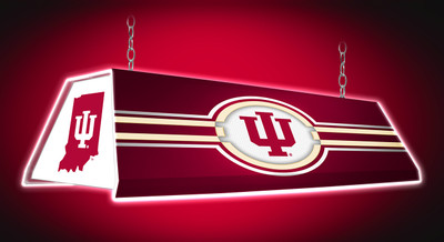 "Indiana Hoosiers 46"" Edge Glow Pool Table Light-White 