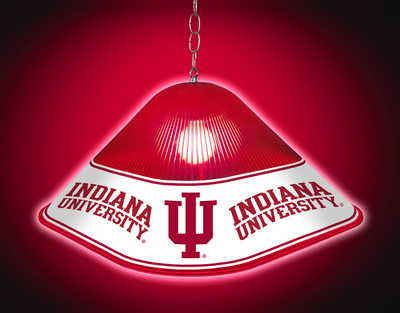 Indiana Hoosiers Game Table Light- Logo | Grimm Industries |IN-410-01