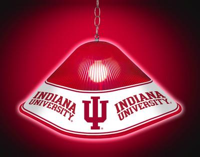 Indiana Hoosiers Game Table Light- Logo | Grimm Industries |IN-410-01