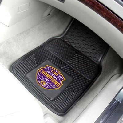 LSU Tigers National Champions Heavy Duty Car Mats | Fanmats | 24270