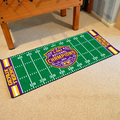 LSU Tigers National Champions Football Field Runner  | Fanmats | 24265