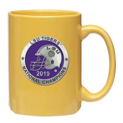LSU Tigers National Champions Coffee Mug | Heritage Pewter | CM11226EPYL