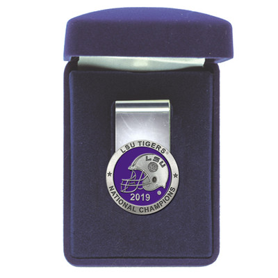 LSU Tigers National Champions Money Clip | Heritage Pewter |MC11226EP