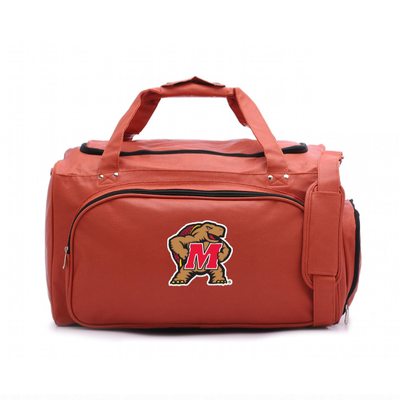 Maryland Terrapins Basketball Duffel Bag | Zumersport | maryduf