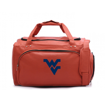 West Virginia Mountaineers Basketball Duffel Bag   Zumer Sport   wvuduf