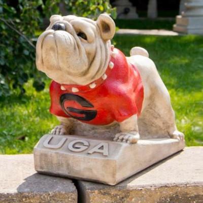 Georgia Bulldogs Mascot Garden Statue | Stonecasters | 2781HT
