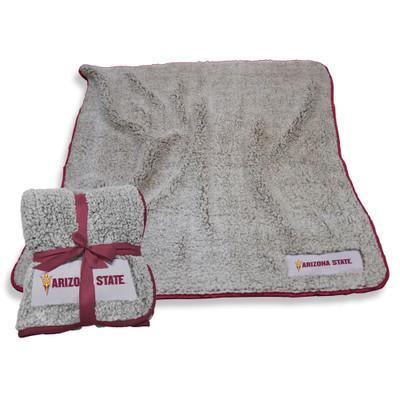 Arizona State Sun Devils Frosty Fleece Blanket | Logo Chair | 107-25F-1
