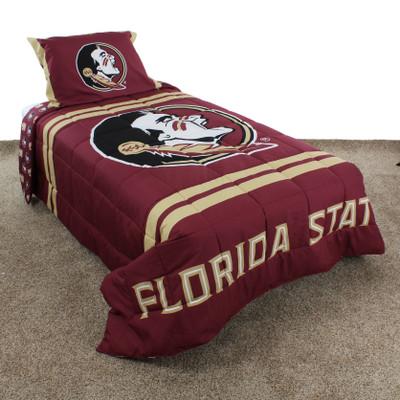 FSU Seminoles Reversible Comforter Set | College Covers | FSUNPCM