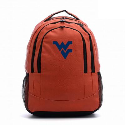 West Virginia Mountaineers Basketball Backpack   Zumersport   wvbsktbp