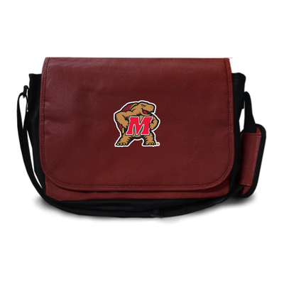Maryland Terrapins Football Messenger Bag | Zumer Sport | maryfblmes