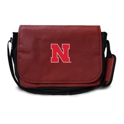 Nebraska Huskers Football Messenger Bag | Zumer Sport | nebfblmes