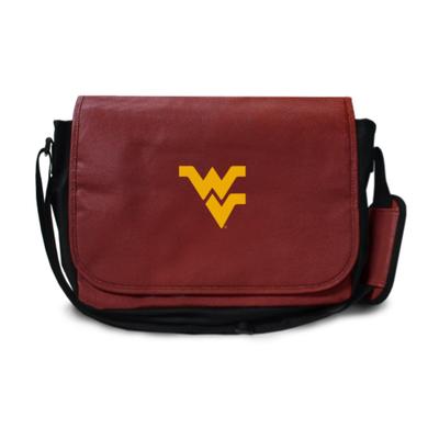 West Virginia Mountaineers Football Messenger Bag | Zumer Sport | wvfblmes