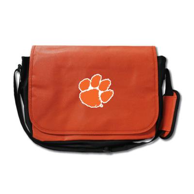 Clemson Tigers Basketball Messenger Bag | Zumer Sport | clembskblmes