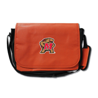 Maryland Terrapins Basketball Messenger Bag | Zumer Sport | marybskblmes