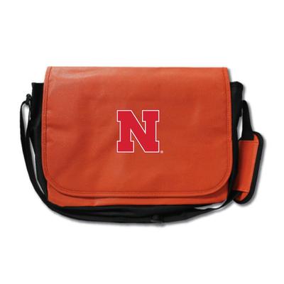 Nebraska Huskers Basketball Messenger Bag | Zumer Sport | nebbskblmes