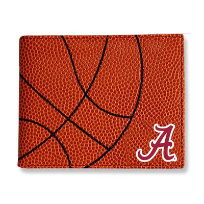 Alabama Crimson Tide Basketball Wallet | Zumer Sport | alabskblwallet