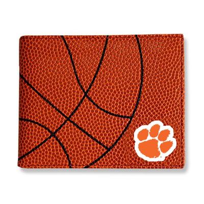 Clemson Tigers Basketball Wallet | Zumer Sport | clembskblwallet