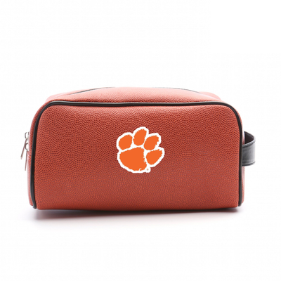 Clemson Tigers Basketball Toiletry Bag | Zumer Sport | clembskbltlt