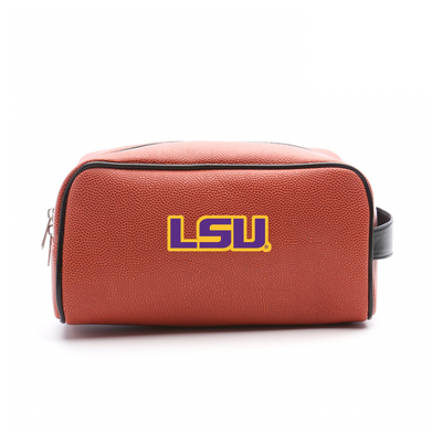 LSU Tigers Basketball Toiletry Bag | Zumer Sport | lsubskbltlt