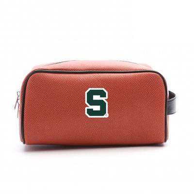 MSU Spartans Basketball Toiletry Bag | Zumer Sport | msubskbltlt