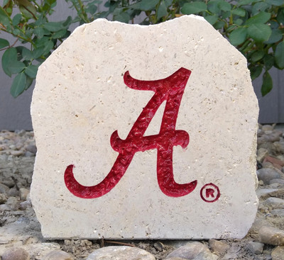 Alabama Crimson Tide Desk Stone 5.5   Stoneworx   alabama10