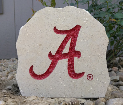 Alabama Crimson Tide Decorative Stone Logo 7| Stoneworx | Alabama9