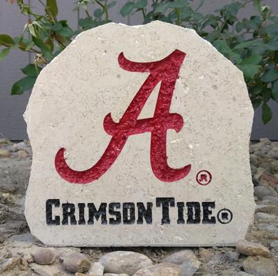 Alabama Crimson Tide Decorative Stone Crimson 7| Stoneworx | Alabama8