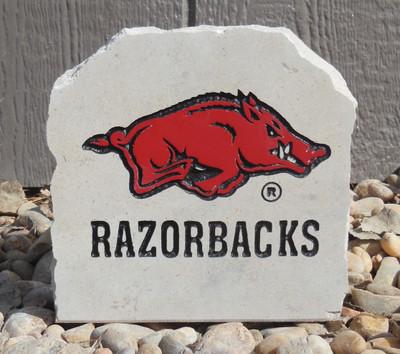 Arkansas Razorbacks Decorative Stone Razorbacks| Stoneworx | ark9