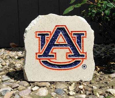 Auburn Tigers Decorative Stone AU Logo| Stoneworx | aub6