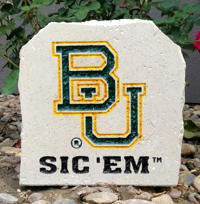 Baylor Bears Decorative Stone 7| Stoneworx | bay12