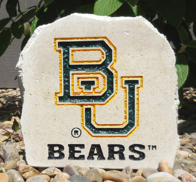 Baylor Bears Decorative Stone -Bears| Stoneworx | bay9