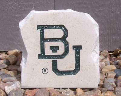 Baylor Bears Decorative Stone BU 5.5| Stoneworx | bay11