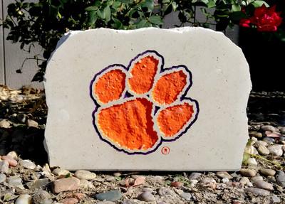 Clemson Tigers Decorative Stone Medium