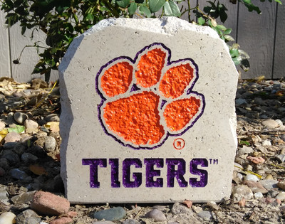 Clemson Tigers Decorative Stone Tigers 7| Stoneworx | clem5